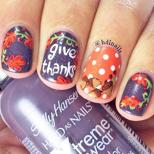Thanksgiving Nails Ideas to Inspire You picture 6