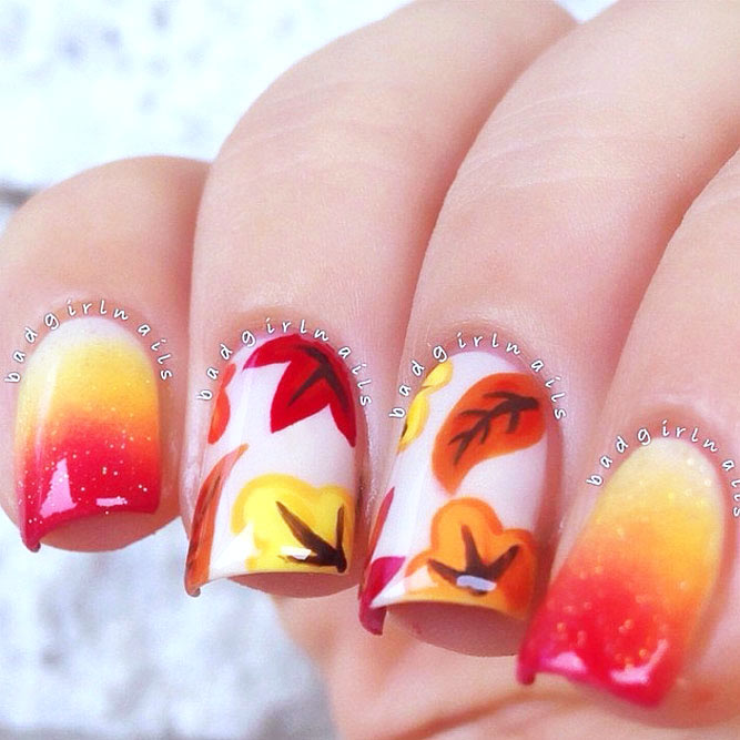 Easy Fall Nail Designs picture 2
