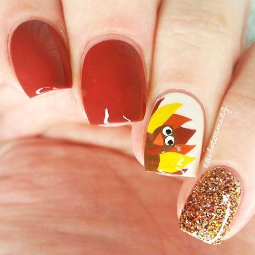 Thanksgiving Nails Ideas to Inspire You picture 3