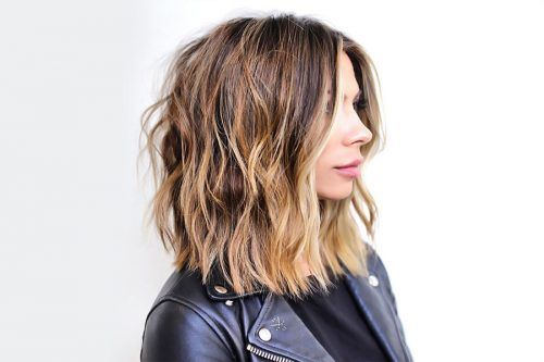Stylish Ideas with Highlights for Dark Hair