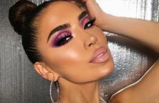 Purple Smokey Eye Makeup Ideas to Open the Party Season