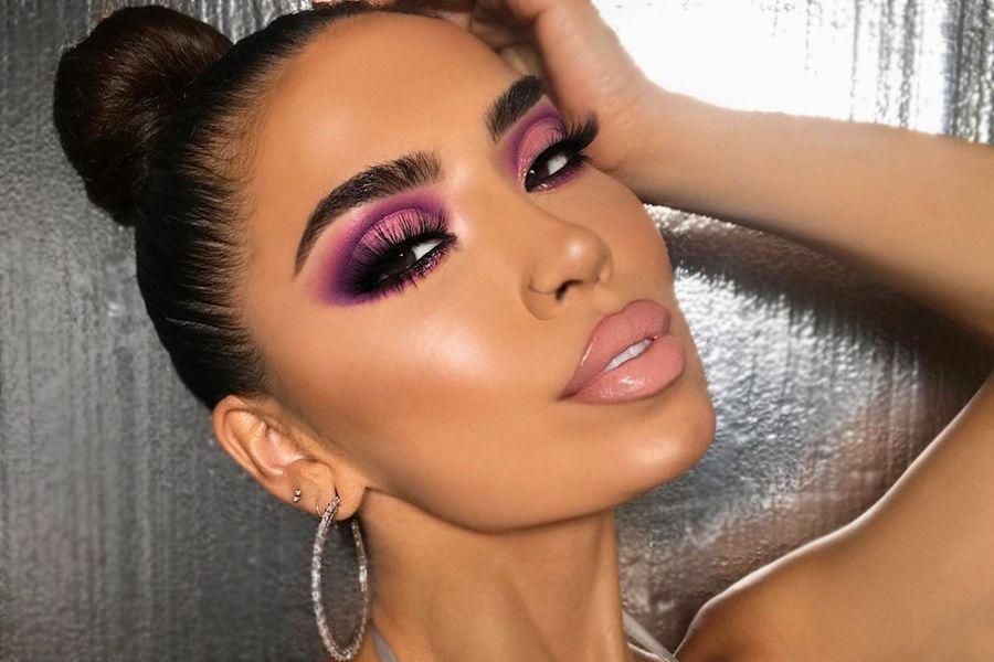 Purple Smokey Eye Makeup Ideas to Open the Party Season