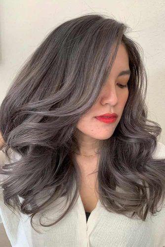 Ash Brown Hair Color #ahshair #brownhair