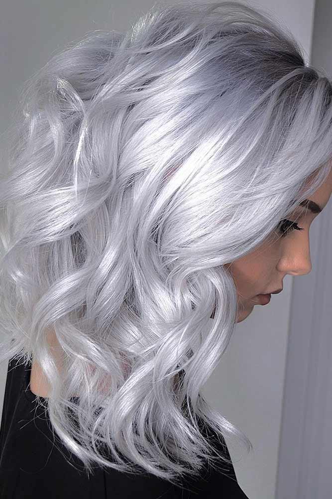 Frozen Blonde #silverhaor #frozenblonde