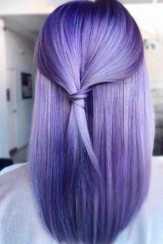 Cold Lavender Hair #sleekhair #lavenderhair