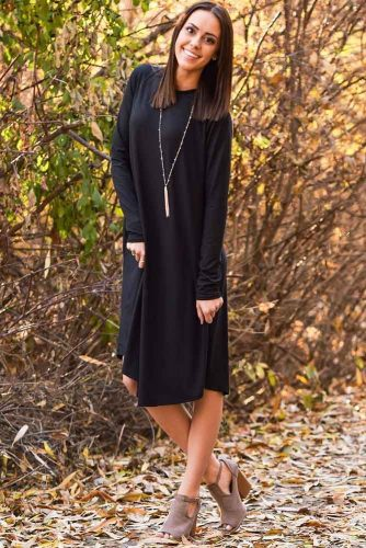 Women's Casual Dresses in Black Color picture 4