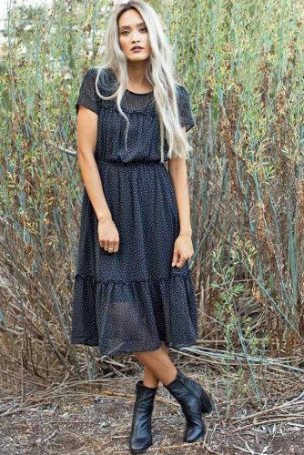 Women's Casual Dresses in Black Color picture 6
