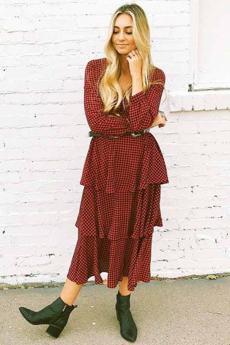 Print Smart Casual Dresses picture 2