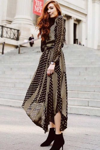 Print Smart Casual Dresses picture 6