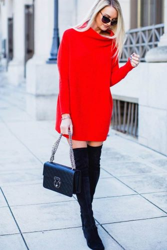Warm and Comfy Casual Outfits with Dresses picture 3