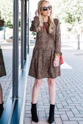 Print Smart Casual Dresses picture 4