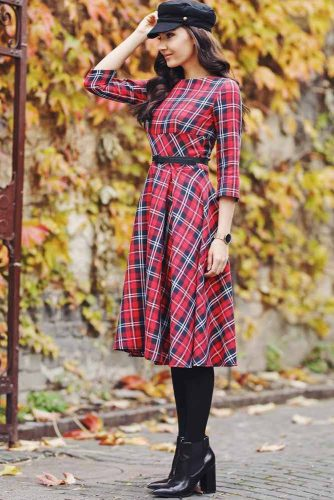 Print Smart Casual Dresses picture 5