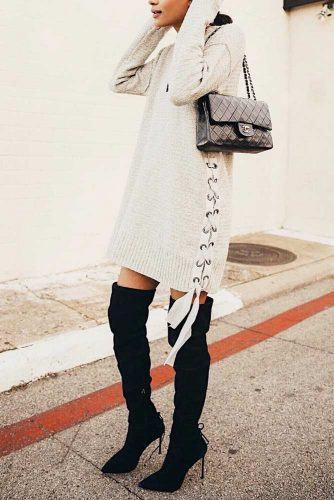 Warm and Comfy Casual Outfits with Dresses picture 1