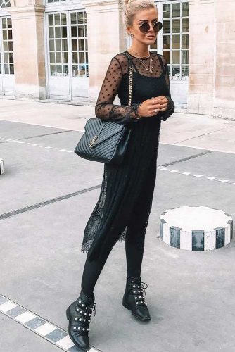 Women's Casual Dresses in Black Color picture 2