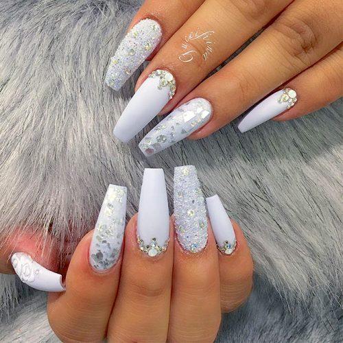 White Coffin Nails Picture 2