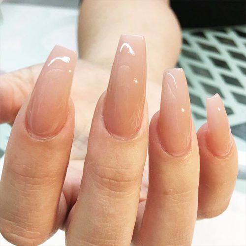 Long Coffin Nail Designs with Pastel Colors Picture 3