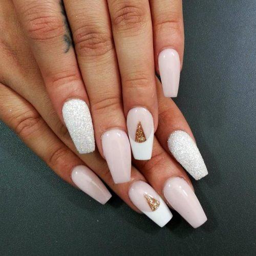 White Coffin Nails Picture 4