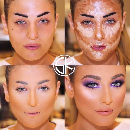 Easy Contouring Makeup Tutorials picture 1