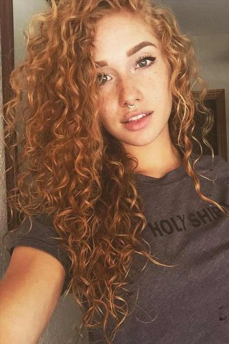 Beautiful Curly Hairstyles with Long Hair Picture 3