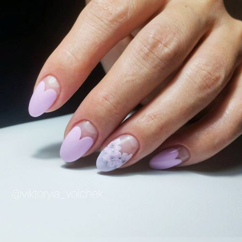 Cute Nail Designs with Flowers Picture 2