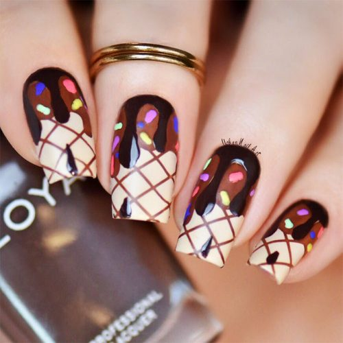Cute and Awesome Nail Designs for Food Lovers Picture 3