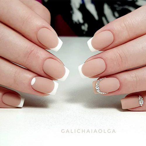 French Manicure Cute Nail Designs Picture 3