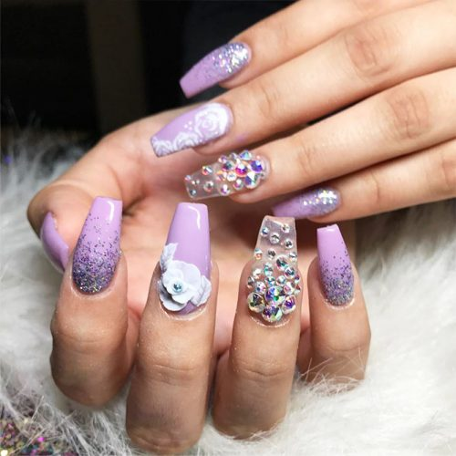 Cute Nail Designs with Flowers Picture 1