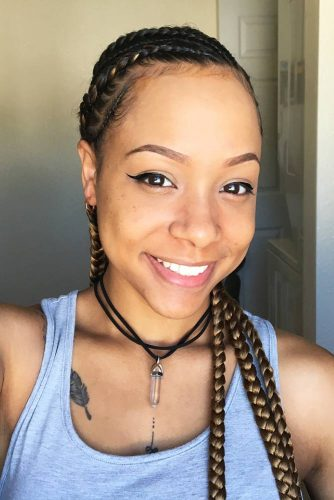 African Braids Hairstyles for Sexy Look Picture 1