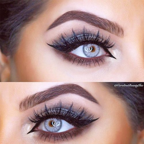 Cat Eye Makeup Looks for Hooded Eye Shape picture 4
