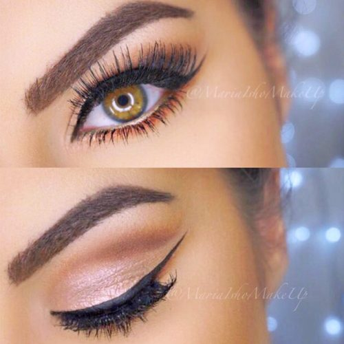 Natural Hooded Eyes Makeup Ideas picture 4
