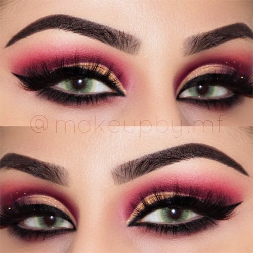 Party Smokey Makeup for Hooded Eyes picture 1