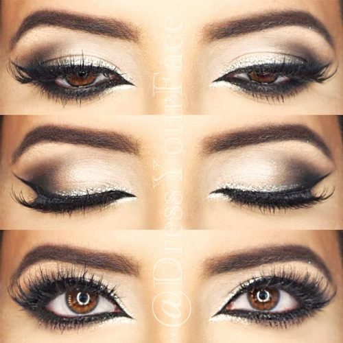 Cat Eye Makeup Looks for Hooded Eye Shape picture 3