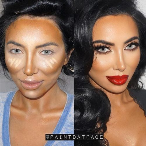 DIY Contouring Pictorial picture 1