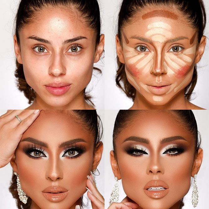 Contour Makeup Tutorial #smokey