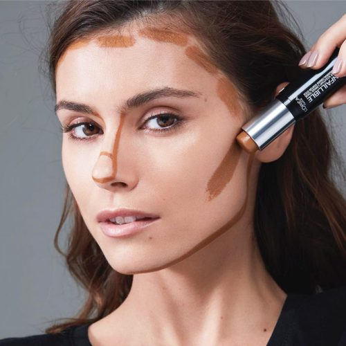 How to Contour Square Face Shape