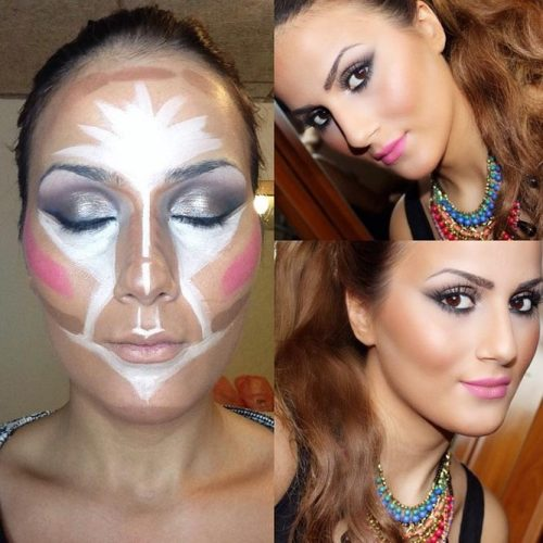 How to Contour Oblong Face Shape