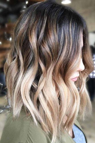 Long Bob Haircut with Ombre Picture 4