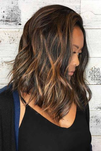 Long Bob Hairstyles with Natural Colors Picture 5