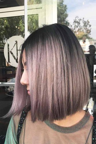Colorful Long Bob Hairstyles Picture 1