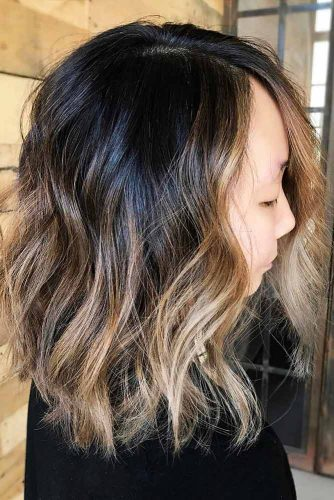Long Bob Haircut with Ombre Picture 6