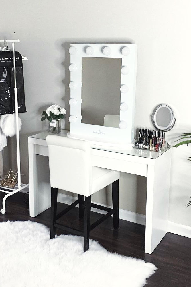 Glam Modern Vanity Table Designs picture 1