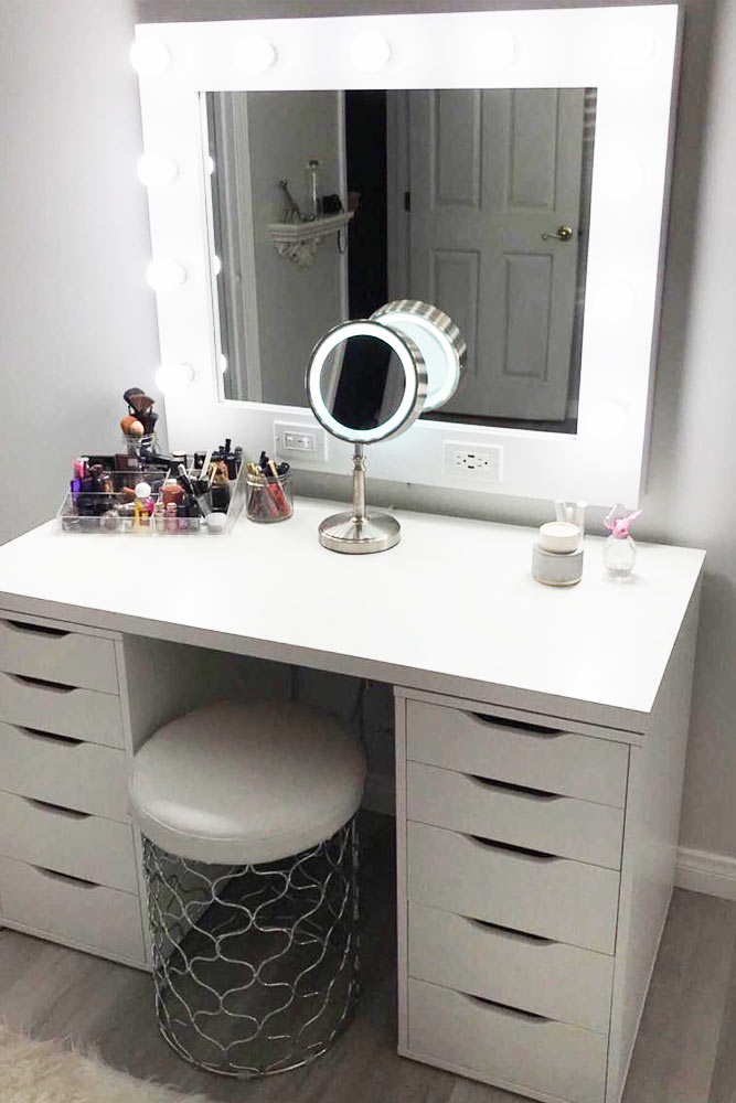 Glam Modern Vanity Table Designs picture 5