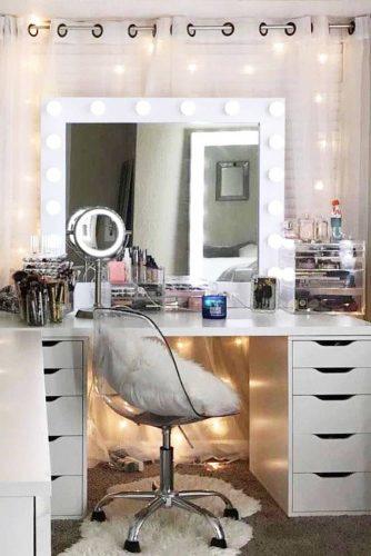 Top Makeup Vanity Tables Designs picture 1