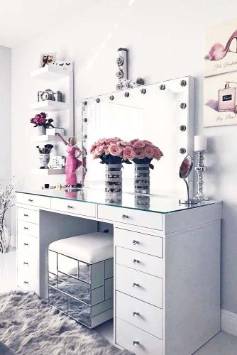 Glam Modern Vanity Table Designs picture 2