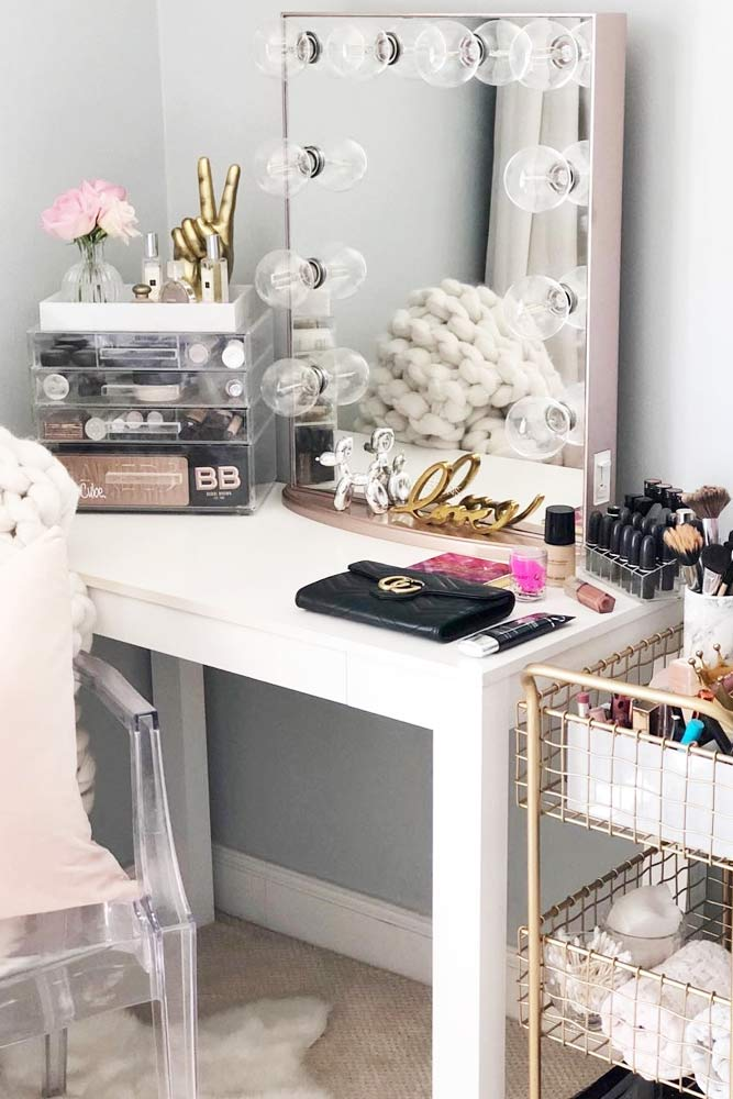 Top Makeup Vanity Tables Designs picture 2
