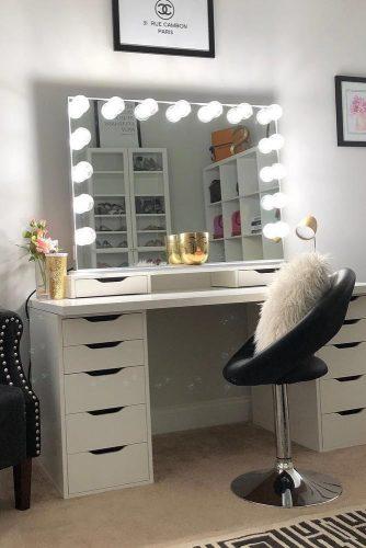 Top Makeup Vanity Tables Designs picture 3