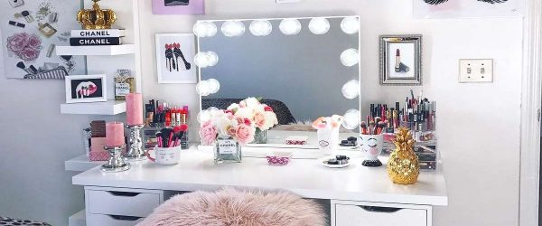 30 Makeup Vanity Table Designs to Decorate Your Home