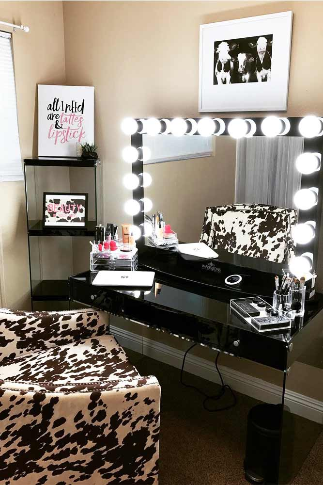 Designs of Makeup Vanity Mirror with Lights picture 4