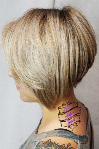 Beautiful Natural Shades Medium Bob Haircuts Picture 3