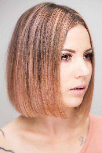 Straight Medium Bob Ideas for Perfect Look Picture 5